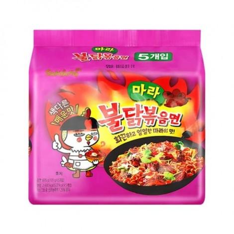 韩国 三养 麻辣超辣火鸡面 5包入
