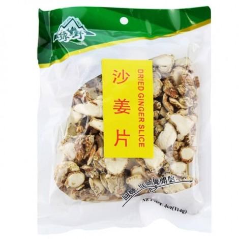绿野 沙姜片 114g