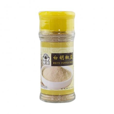 华美 白胡椒盐 75g