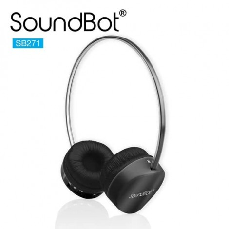 SoundBot SB271 蓝牙4.1无线耳机 黑色
