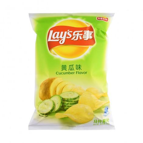 乐事 Lay's 薯片 黄瓜味 70g