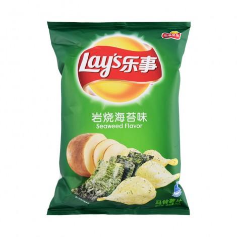 乐事 Lay's 薯片 岩烧海苔味 70g