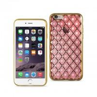 iphone 7 plus 网格保护壳 金色/粉色
