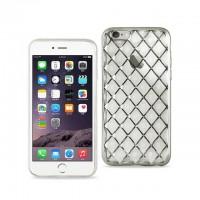 iphone 7 plus 网格保护壳 银色