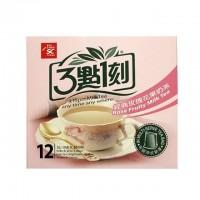3点1刻 经典玫瑰花果奶茶 盒装 240g