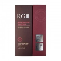 RG III 韩国红参防脱生发洗发水  520ml*2瓶装