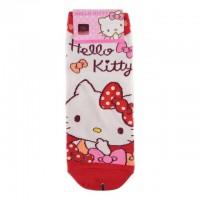 HELLO KITTY 韩国时尚短袜-3 1双 24cm
