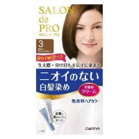 DARIYA Salon de Pro 白发染发剂 3号浅棕色 80g