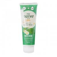 肌美精Kracie naive 100%植物性绿茶洗面奶 190g