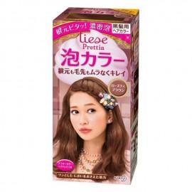 花王LIESE PRETTIA 泡沫染发膏 玫瑰棕 3.7 FL.OZ
