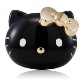韩国 Hello Kitty 超细维C刷毛手动洁面沐浴刷 24K金 黑色