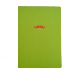 Bonjour 韩国时尚纯色小笔记本 青春绿 1本