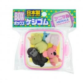 IWAKO 日本动物橡皮擦 红盒