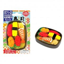 日本进口 IWAKO  外卖寿司橡皮擦