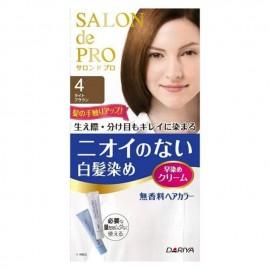 DARIYA Salon de Pro 白发染发剂 4号浅棕色 80g
