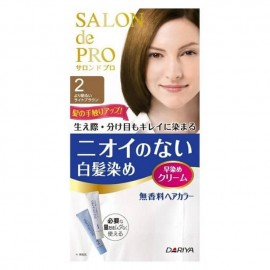 DARIYA Salon de Pro 白发染发剂 2号浅棕色 80g