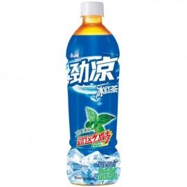 康师傅 劲凉冰红茶 冰爽薄荷 550mL