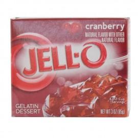 JELL-O 果冻粉 蔓越莓味 85g