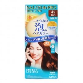 DARIYA SALON DE PRO(白发用)泡沫染发膏 4S号棕色