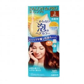 DARIYA SALON DE PRO(白发用)泡沫染发膏 3号亮棕