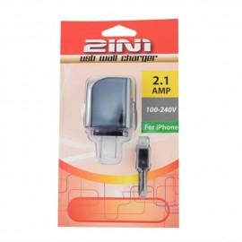 2IN1 iphone 手机USB插壁式充电器 黑色