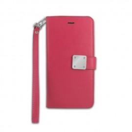 IPhone X 手机钱包保护壳  深粉色