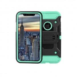 IPhone X 手机支架壳 绿色