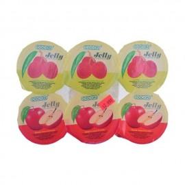 COCON 荔枝+苹果味果冻 6个装 708g