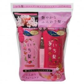 肌美精KRACIE ICHIKAMI 修复系列 洗发露+护发素 36.6OZ