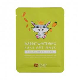 SNP艺术美妆系列 兔子美白面膜 25ml
