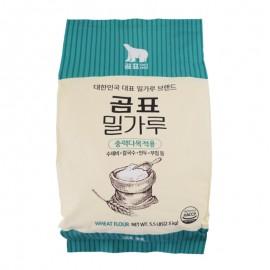 韩国白熊 小麦面粉 2.5KG