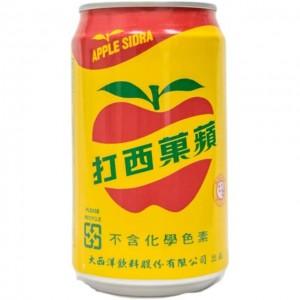 苹果西打 330mL