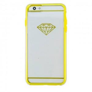 iPhone 6/ 6s  软胶硬壳式组合手机壳  黄色