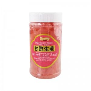 Shirakiku 红姜片 340g