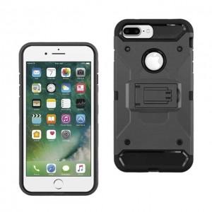 iphone 7 plus 手机支架保护壳 黑色
