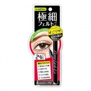 BCL 24小时防水眼线液 极细 黑色 1g