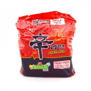 农心 韩国辛字拉面红袋(4包入) 480g