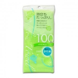 AISEN 沐浴毛巾 绿色