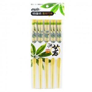 依维依 食尚竹木筷子 5双入 200g