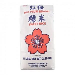 红梅 糯米 5磅装