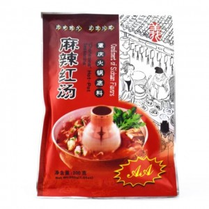 义达源 麻辣火锅红汤 200g