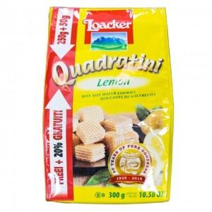 莱家 Quadratini 威化 柠檬味 300g