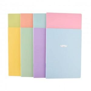 Bonjour 韩国时尚纯色笔记本 8种颜色 随机发货