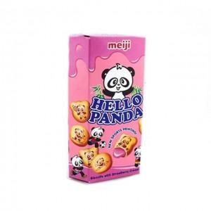 明治 草莓味熊猫夹心饼干 57.5g