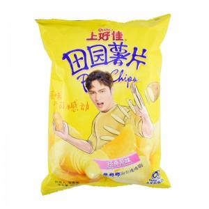 上好佳 田园薯片 原味 90g