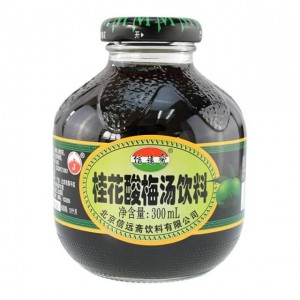 信远斋 桂花酸梅汤饮料 300ml