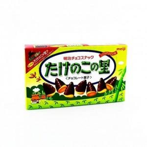 明治 竹笋形巧克力饼干 77g