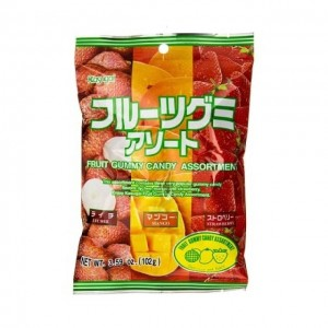 春日井Kasugai 综合水果味QQ软糖 102g