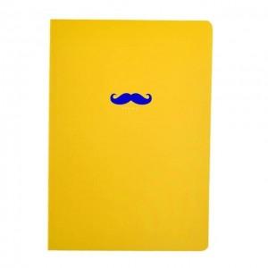 Bonjour 韩国时尚纯色小笔记本 本色黄 1本