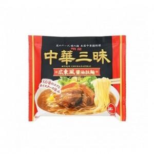 明星 广东风酱油拉面 106g